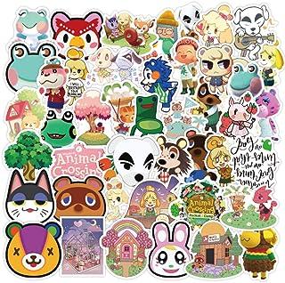 Animal Crossing New Horizons Stickers for Water Bottle Laptop,Waterproof Vinyl Sticker Decals for Kids, Teen Girls, Teens