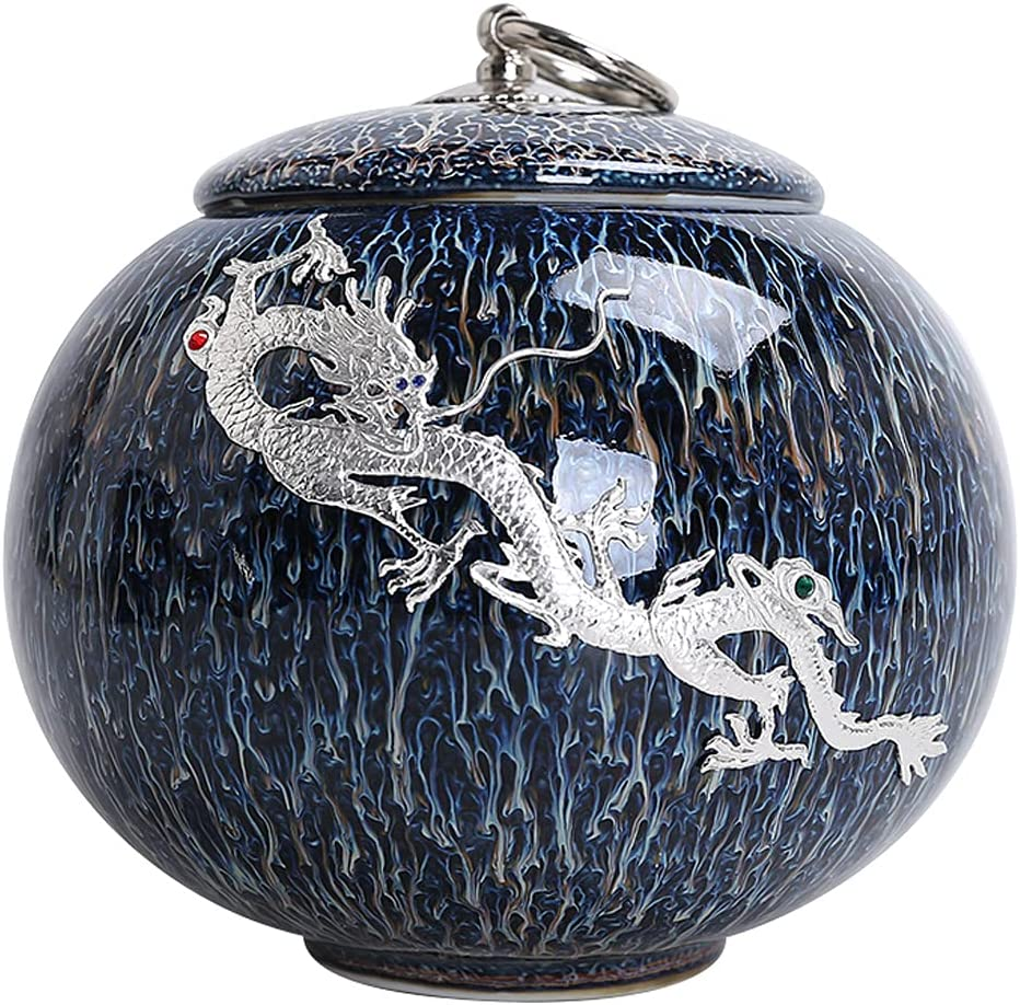 FICYEFIYC Keepsake Phoenix Mall Urn for Human Ceramic Crematio Delicate Ashes Max 79% OFF