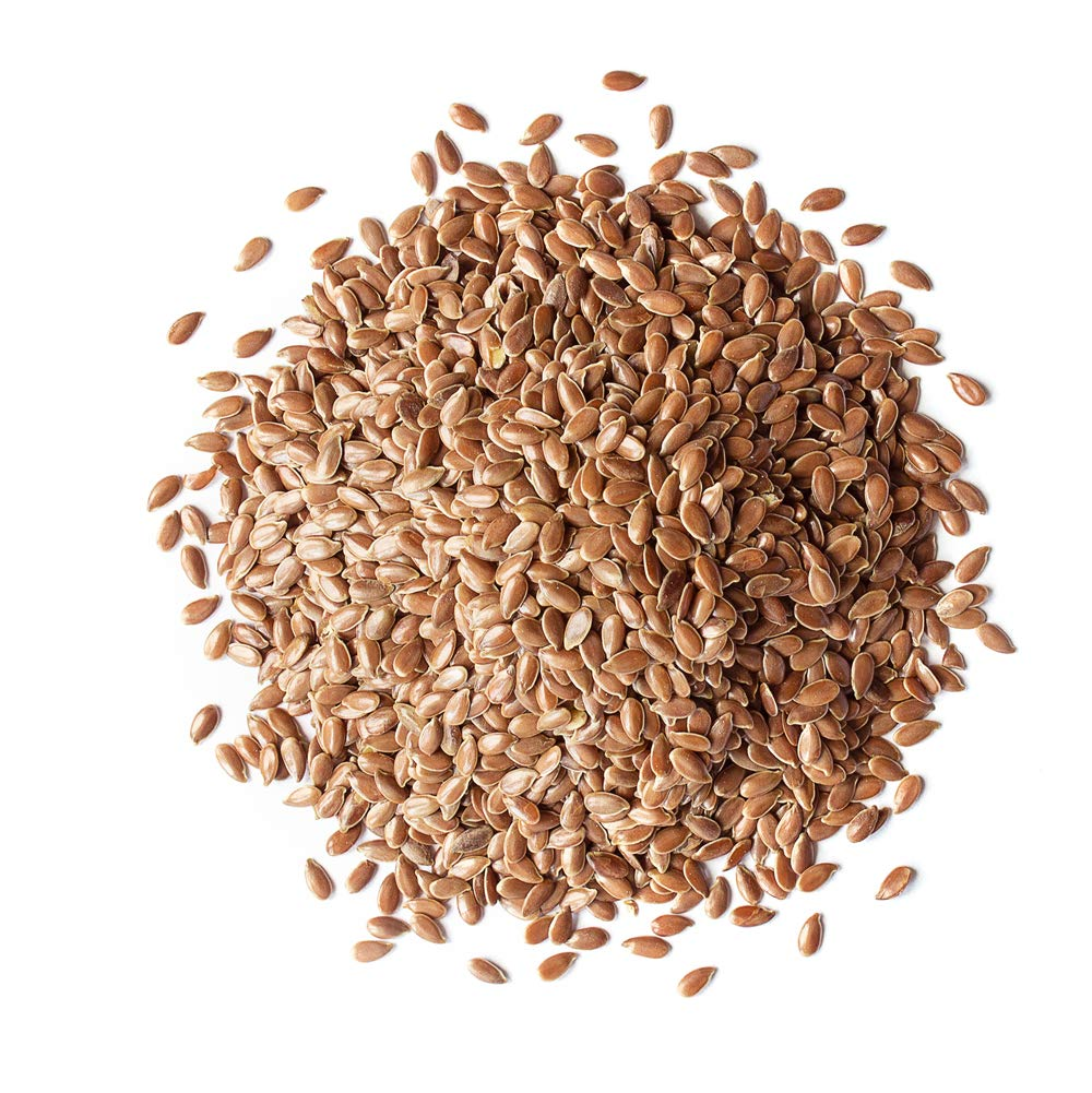 Organic Brown Flax Seeds 20 — Max 61% OFF Whole Pounds Easy-to-use Flaxseeds Non-