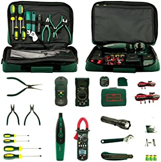 Aidetek Electrician Kit Mastech Ms5902 Ms8233b Ms2008a Ms6906 Clamp Multimeter Tester + Screwdriver + flashlight + Wrench...