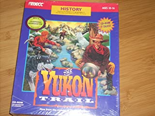 THE YUKON TRAIL Software History Learning Game CD for Windows 3.1/DOS or Macintosh - Ages 10-16. Explore the history and geography of the Klondike Gold Rush and Yukon Territory. New from the makers of 'The Oregon Trail'. 1994 MECC Learning Library.