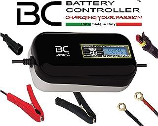 BC LITHIUM 7000-12V 7A – automatisk digital batteriladdare och underhållsenhet för litium/LiFePO4-batterier batteri- och g...