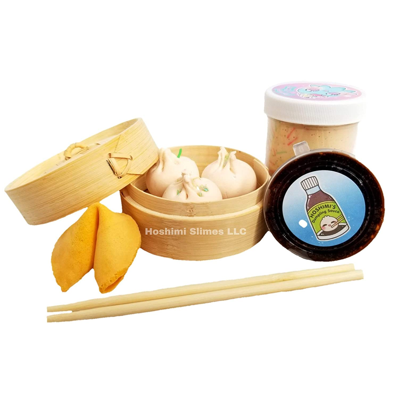 Dim Sum Bao Dumpling Handmade Sales results No. 1 Slime Kit-Hoshimi Slimes DIY latest