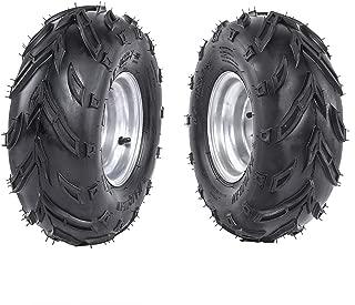 TDPRO 2pcs ATV Tires 16X8-7 Tubeless Go Kart UTV Quad Bike