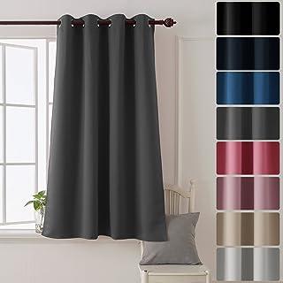 Deconovo Rideau Home Decorative Super Soft Oeillet Rideau Occultant à  Oeillet Fenetre Rideau Pour Chambre Garcon