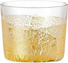 東洋佐々木ガラス タンブラー ゴールド 約120ml 江戸硝子 金玻璃 冷酒杯純米 大地 10892