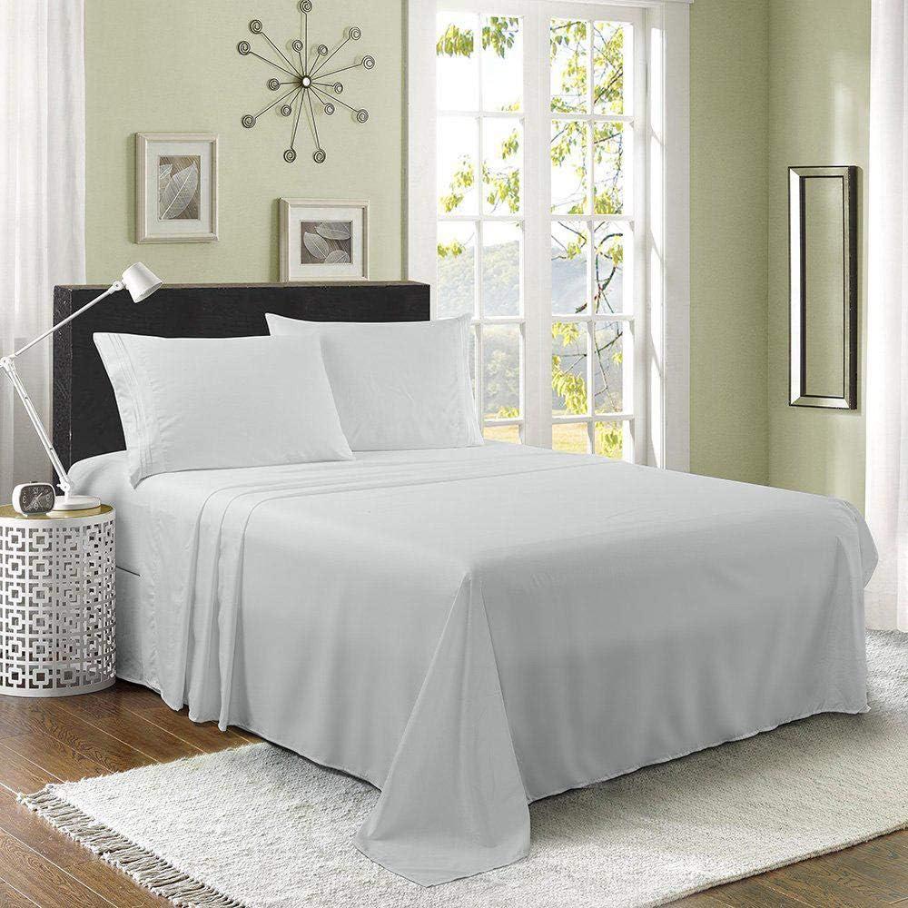 新作からSALEアイテム等お得な商品 満載 送料無料 激安 お買い得 キ゛フト Luxury 1800 Series Bamboo Bed Pockets Cooling Sheet Set -Deep