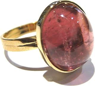 anillo turmalina Oro 750%