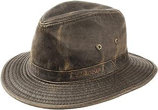 comprar comparacion Stetson Sombrero vagabundo Traveller para Hombre - Sombrero Aventurero de algodón con protección UV 40+ - Sombrero de Exte...
