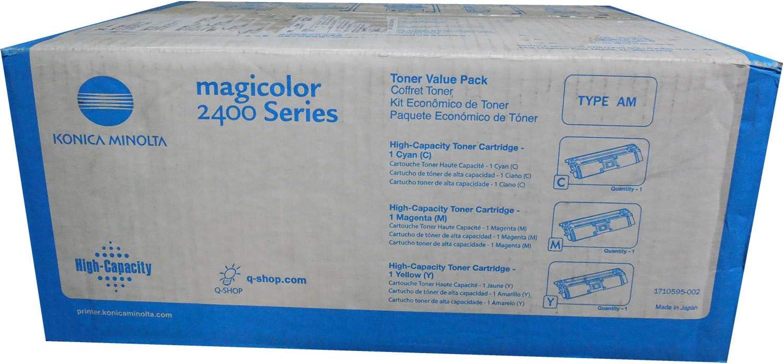 Konica Minolta 3PK Value Toner KIT Cyan-Magenta YLW MC 2400 (1710595-002)