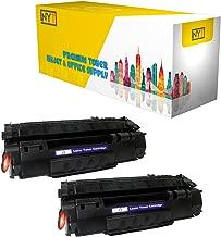 New York Toner New Compatible 2 Pack HP Q5949A High Yield Toner for HP - Laser Jet: LaserJet 1160.--Black