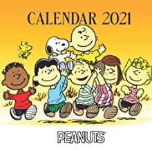 "Peanuts: 2021 Wall Calendar - Large 8.5"" x 17"" When Open - 12 Months"