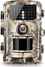 "【2020 upgrade】Campark Trail Camera 16MP 1080P 2.0"" LCD Game & Hunting Camera with 42pcs IR LEDs Infrared Night Vision up t..."