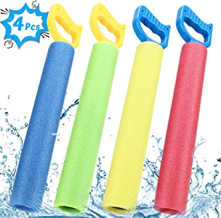 joylink Pistolas de Agua- Pistola de Agua de Espuma EVA Pistola de Espuma de Agua Tirador Juguete Infantil para Batalla de Agua- Playa- Piscina(4pcs) (Cuatro Colores)