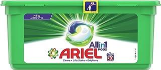 Ariel 3in1 PODS, Washing liquid capsules, Original Scent, 30 counts