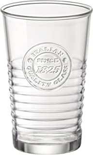 Bormioli Rocco Officina 1825 Water Glass, 11 oz. , 10.25 oz, Clear