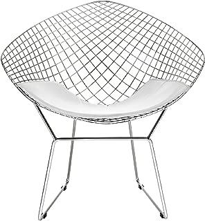 bertoia style diamond chair
