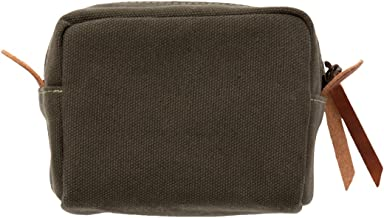 W&P Carry On Cocktail Kit Travel Pack, Forest Green   Set of 3   Carry on Cocktail Kits Included, Canvas Bag, For Drinks o...