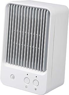 スリーアップ 人感センサー付 ミニセラミックヒーター ホワイト CHT-1732WH