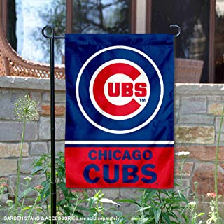 WinCraft Chicago Cubs Double Sided Garden Flag