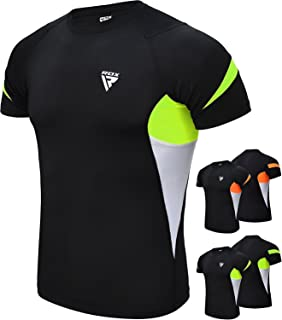 RDX Sauna Suit MMA Compression Base Layer Rash Guard Thermal Shirt Top Sweatshirts
