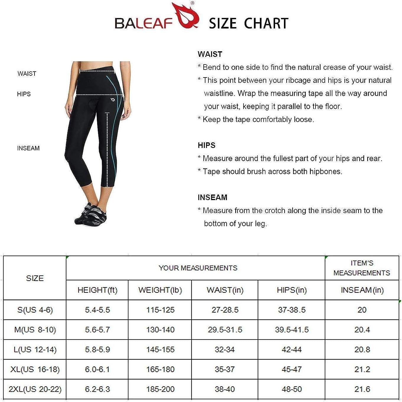100% brand new with original quality BALEAF Sports Womens