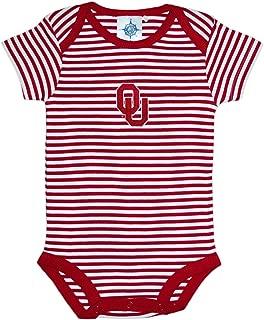 University of Oklahoma Sooners Striped Baby Bodysuit