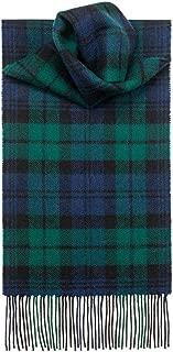 USA Kilts Lambswool Black Watch Tartan Scarf Made in Scotland
