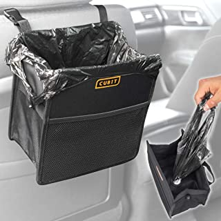Cubit - Water-Resistant Refillable Dispensing Trash Can - Waste Bag & Organizer for Car Auto Office Home (1 Piece)