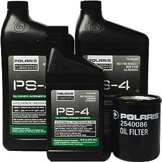 Polaris General 1000 EPS Delux Premium OEM Oil Change Kit 2879323