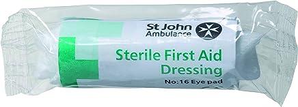 St John Ambulance Number 16 Eye Pad Dressing