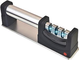VONSALEN Afilador de Cuchillos Premium Design, Afilador Manual, Afilador de Cuchillos para Cuchillos de Acero. Afila Cuchillos como un Profesional. Simple y Seguro