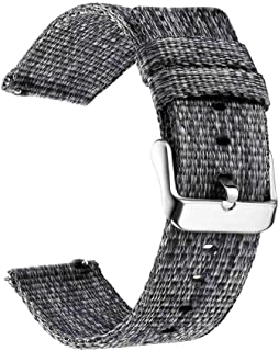 Incense-Ubiquity Nylon Watchband Compatible for Galaxy Gear S3 S2 Class Soft Breathable Replacement Strap Sport Loop 22Mm 20Mm Universal Band