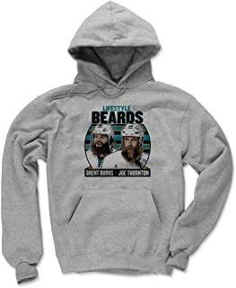 Brent Burns San Jose Hockey Sweatshirt - Brent Burns Lifestyle Beards