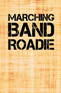 Marching Band Roadie: Dot Grid Journal 6x9 – Flute Marching Band Church Worship Notebook I Marching Band Member Gift for Musicians and Orchestra Fans