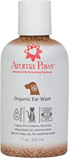 Aroma Paws Organic Dog Wash – Cleansing Scrub, Washes for Canine Ears, Face, Coat and Paws – Conditioning, Moisturizing – Toxin Free, Healthy Ingredients – Grooming, Scented Scrubs – 7 to 13.5 Oz.