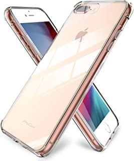 ProCase iPhone 8 Plus / 7 Plus Case Clear, Slim Hybrid Crystal Clear Cover Protective Case for Apple iPhone 8 Plus 7 Plus 5.5 Inch -Clear