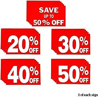 Best 40 off sale sign Reviews