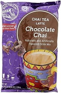 Big Train Chai Chocolate Chai, Two 3.5 lb Bags + Scoop