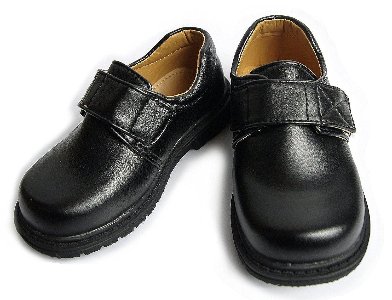 [EIMEI] キッズ 子供 フォーマル 靴 シューズ 男の子 発表会 結婚式 卒業 卒園 七五三 冠婚葬祭 などに マット 黒 (24cm)