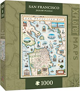 Best san francisco map puzzle Reviews