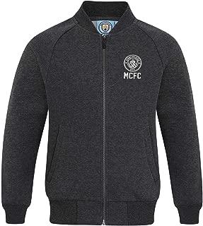 Manchester City FC Official Soccer Gift Boys Retro Varsity Baseball Jacket