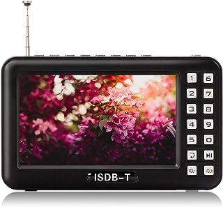 ポータブルテレビ ワンセグテレビ 4.3インチ FM/AMラジオ機能搭載 エコラジテレビ 防災 情報収集 携帯用 テレビ USB充電式 テレビ付きラジオ 携帯TV 防災グッズ