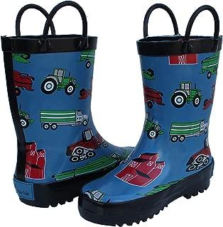 Foxfire For Kids Boys Rubber Rain Boots Toddler Children