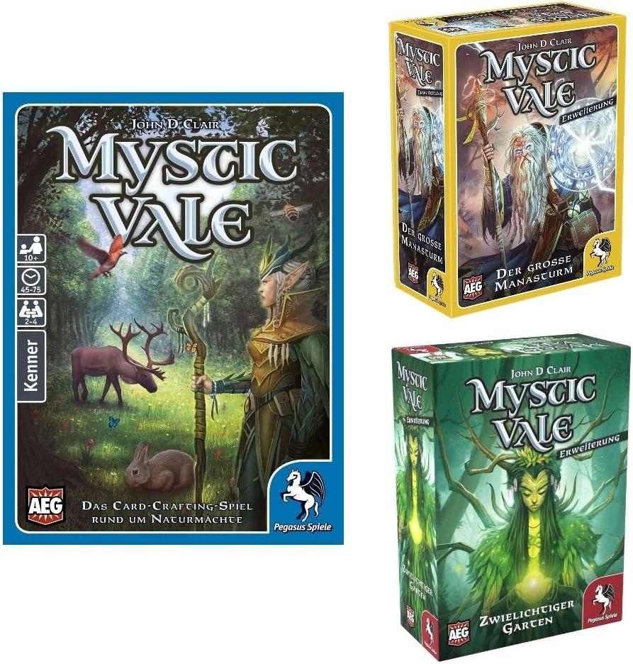 Pegasus Spiele Mystic Vale deutsche Ausgabe Set   Das Card ...