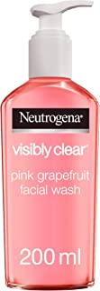Neutrogena, Facial Wash, Visibly Clear, Pink Grapefruit, 200ml