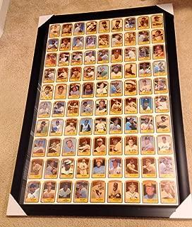 1990 Swell Baseball Greats Uncut Card Sheet