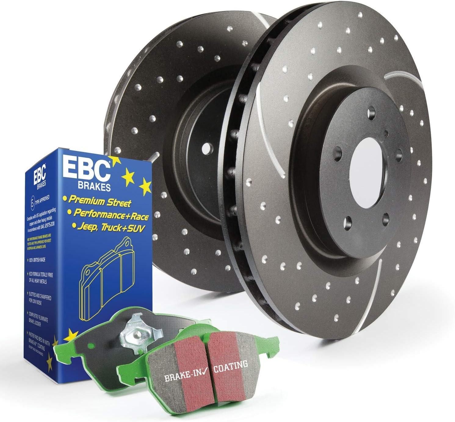 EBC S3KF1051 Stage-3 Truck trust Kit and Popular overseas SUV Brake