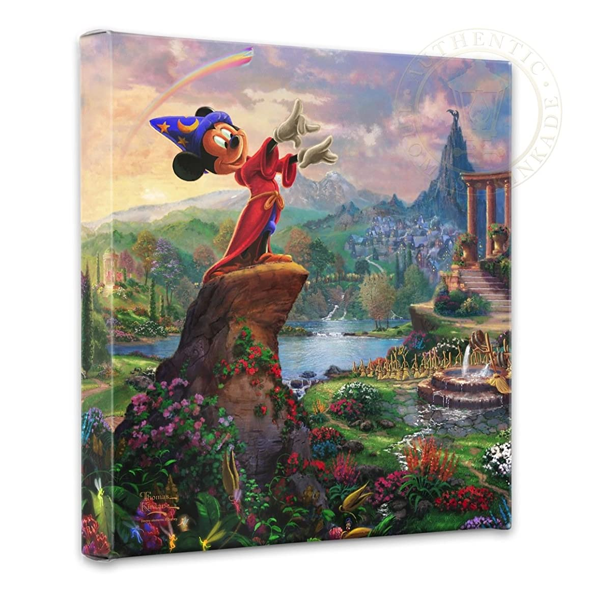 Thomas Kinkade Studios Fantasia 14x14 Gallery Wrapped Canvas