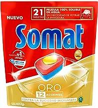 Somat Oro Pastillas Para Máquinas Lavavajillas (403g